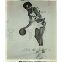 1972 Press Photo Chicago Bulls basketball player Kennedy McIntosh - sas14145