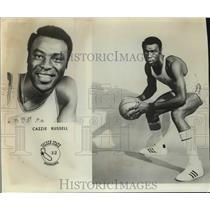 1973 Press Photo Golden State Warriors basketball player Cazzie Russell