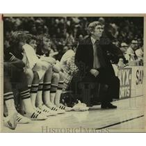 1974 Press Photo New San Antonio Spurs basketball coach Bob Bass - sas14779