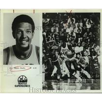 1979 Press Photo Seattle SuperSonics basketball player Bruce Seals - sas14293