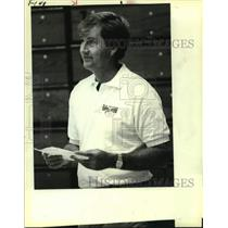 1983 Press Photo San Antonio Spurs coach Morris McHone - sas14151