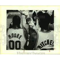 1983 Press Photo San Antonio Spurs coach Morris McHone - sas14478
