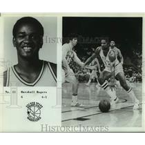Press Photo Golden State Warriors basketball player Marshall Rogers - sas14261