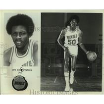 Press Photo Houston Rockets basketball player Joe Meriweather - sas14841