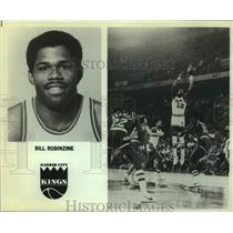 Press Photo Kansas City Kings basketball player Bill Robinzine - sas14454