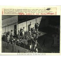 1988 Press Photo Prisoners of old Jefferson Parish Prison in Gretna- In the yard