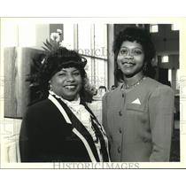 1994 Press Photo Dianne Weaver, Gisele Jones, National Conference of Negro Women