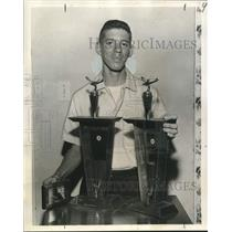 1962 Press Photo Roy Girod, Winner in Southwest Model Airplane Championship