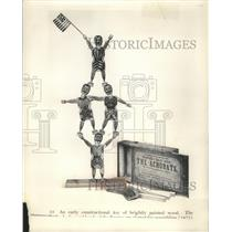 1875 Press Photo Early type of constructional toy made in the United States