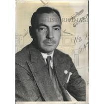 1937 Press Photo Herb Graffis American Golf Writer & Administrator- RSA65339