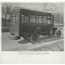 1920 Press Photo First Gasoline Bus - mjx50193