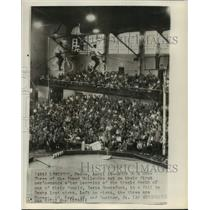1963 Press Photo Three of the Famed Wallendas in Lewiston Maine - lrx04154