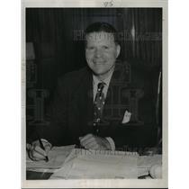 1951 Press Photo Milwaukee Brewers baseball executive, Frank Lane - mjt03746