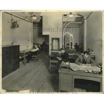 1924 Press Photo Advertising Department Milwaukee Journal - mjx54176