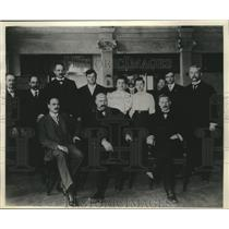 1906 Press Photo Milwaukee's first Juvenile Court staff - mjx54933