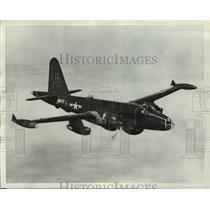 1954 Press Photo U.S Navy Lockheed P2V-7 Neptunes in Burbank California