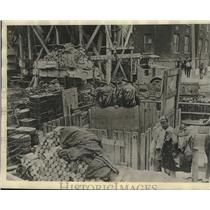 1930 Press Photo Dearborn, Michigan - New Ford tunnel nears completion