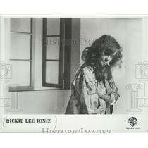 1983 Press Photo Rickie Lee Jones, musician - mjp32130
