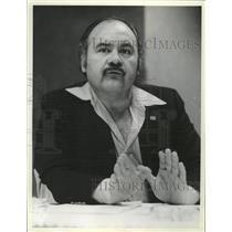 1981 Press Photo Tony Bonilla National President LULAC - RRW38539
