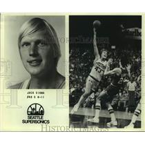 Press Photo Seattle SuperSonics basketball player Jack Sikma - sas15578