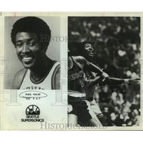 Press Photo Seattle SuperSonics basketball player Paul Silas - sas15581