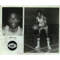 Press Photo New Jersey Nets basketball player Archie Talley - sas15905