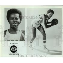 Press Photo New York Nets basketball player Al Skinner - sas15918