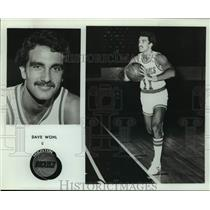 Press Photo Houston Rockets basketball player Dave Wohl - sas16186