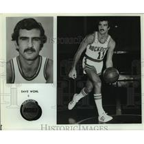 Press Photo Houston Rockets basketball player Dave Wohl - sas16203