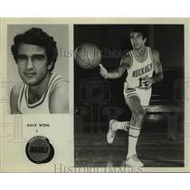 Press Photo Houston Rockets basketball player Dave Wohl - sas16204