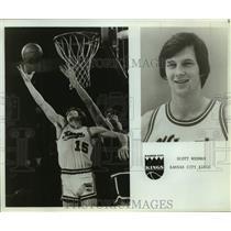 Press Photo Kansas City Kings basketball player Scott Wedman - sas16254
