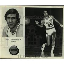 Press Photo Houston Rockets basketball player Rudy Tomjanovich - sas16287