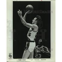 1978 Press Photo Portland Trail Blazers basketball player Larry Steele