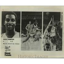 1978 Press Photo Denver Nuggets basketball player David Thompson - sas16214