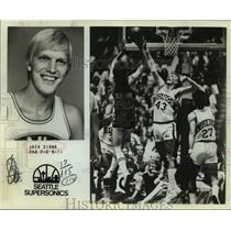 1979 Press Photo Seattle SuperSonics basketball player Jack Sikma - sas15579