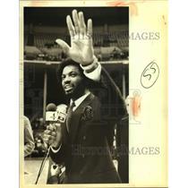 1984 Press Photo San Antonio Spurs basketball player James Silas - sas15370