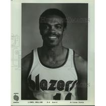 Press Photo Portland Trail Blazers basketball player Lionel Hollins - sas12676