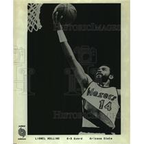 Press Photo Portland Trail Blazers basketball player Lionel Hollins - sas12680