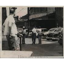 1957 Press Photo Segregation in Bessemer Park, Alabama - abno09971