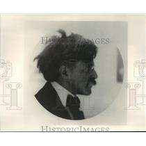 1908 Press Photo Portrait of Alfred Stieglitz, as seen at Houston FotoFest