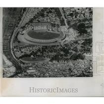 1955 Press Photo Melbourne Australia Cricket Ground arena to host 1956 Olympics