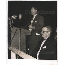 1955 Press Photo White Citizens Council Meeting during Segregation - abna18325