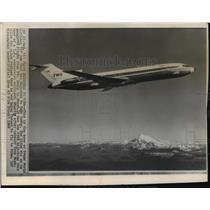 1968 Press Photo This is type of TWA 727 jet that was hijacked to Cuba this day.