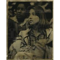 1978 Press Photo Etolia Bristow, wife of Spurs basketball player Allan Bristow