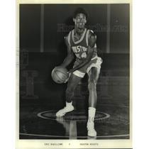 Press Photo Houston Rockets basketball player Eric McWilliams - sas17380
