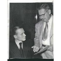 1940 Press Photo Dr. Herbert Hoehne And Attorney - RRX89453