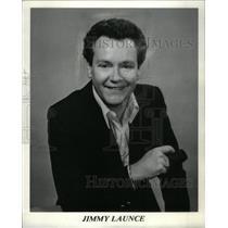 1984 Press Photo Jimmy Launce Disc Jockey - RRX37105