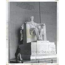 1976 Press Photo Lincoln Memorial in Washington, Distr- RSA16447