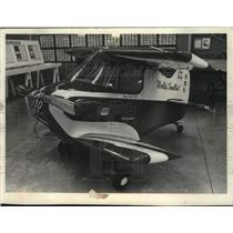 1978 Press Photo Tiny aircraft at Experimental Aircraft Association Museum