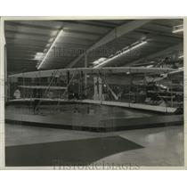 1982 Press Photo Wright Flyer replica at the EAA Aviation Foundation Museum